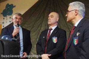 Viterbo - Scambio d'auguri per l'associazione paracadutisti Viterbo