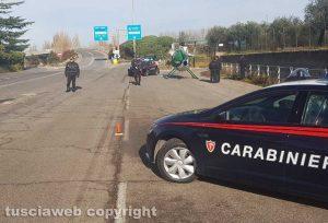 Vetralla - I controlli dei carabinieri