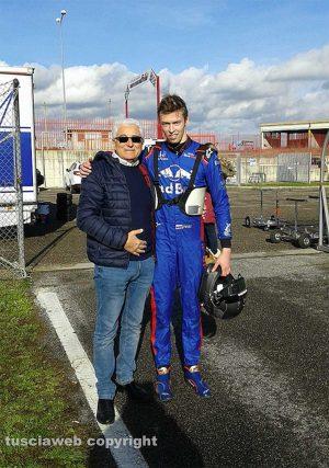 Motori - Daniil Kvjat al circuito di Viterbo