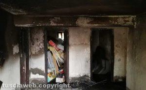 Viterbo - Incendio in appartamento al Carmine