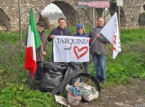 Gli attivisti di Tarquinia nel Cuore