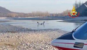 Treviso - Aereo precipita nel fiume Piave