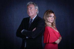 Corrado Tedeschi e Debora Caprioglio