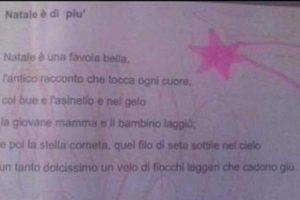 """Tuscania - Nella poesia di Natale """"Gesù"""" diventa """"laggiù"""""""