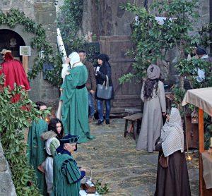 Bassano in Teverina - Il presepe medievale