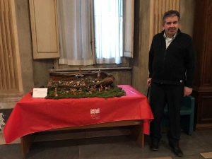 Viterbo - Aism dona due presepi al Comune