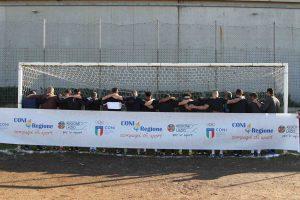 La squadra di calcio dei detenuti