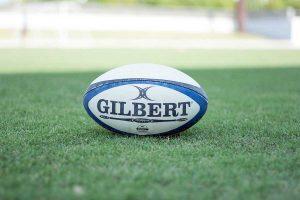Un pallone da rugby
