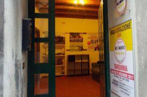 Tarquinia - La sede di M5s in via Antica
