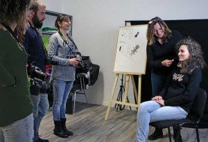 Viterbo - Una lezione all'associazione Click