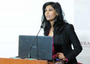 Fmi - La capo economista Gita Gophinat