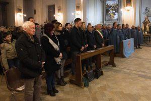 Caprarola - La cerimonia per i padri carmelitani