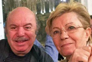 Lino Banfi e la moglie Lucia Lagrasta