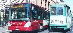 Roma - Autobus e tram Atac