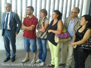 Asilo lager di Monterosi - I genitori delle piccole vittime in tribunale il giorno della condanna della maestra