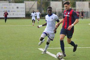 Sport - Calcio - L'amichevole tra Flaminia e Rappresentativa serie D