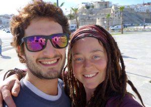 Luca Tacchetto ed Edith Blais