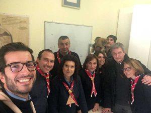 La comunità capi del gruppo scout Viterbo 6