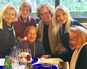 I 90 anni di Nicoletta Orsomando