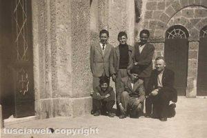 Ragazzi viterbesi in gita a Castel Sant'Elia