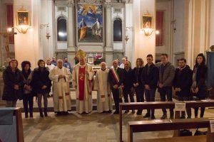 Caprarola saluta i padri carmelitani di Santa Teresa