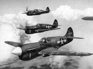 Aerei P-40 americani