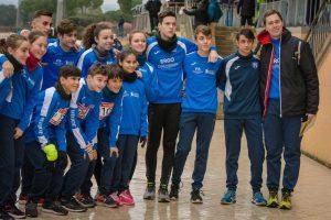 Sport - Atletica Viterbo - I ragazzi della Finass Viterbo al Cross delle Capannelle