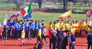 Viterbo - Sport - Atletica leggera - Lanci invernali master