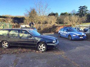 Capranica - Polstrada - Le auto sequestrate