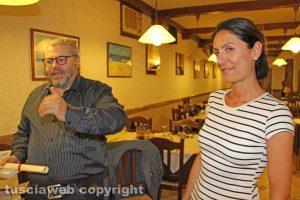 Valeria Conticiani con Carlo Galeotti