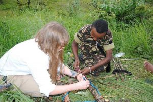 Madagascar, Rachele con i soccorritori