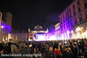 Viterbo - Capodanno 2018 in piazza della Rocca