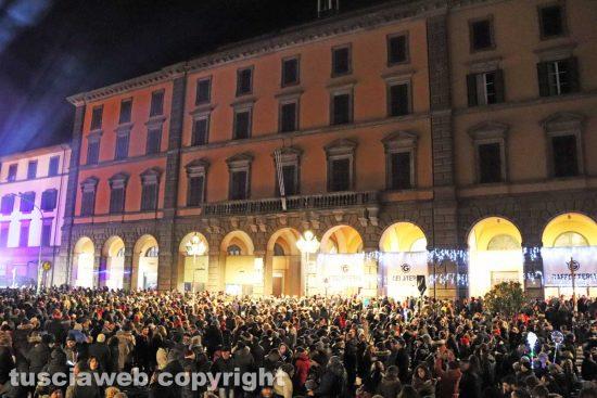 Viterbo - Capodanno in piazza della Rocca