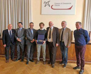 Viterbo - Camera di commercio - La premiazione Marco Tramutola