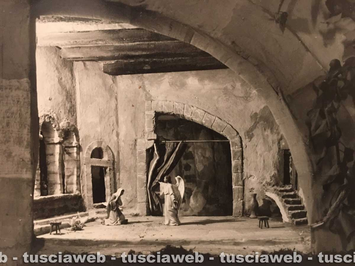 Presepe nella basilica di San Francesco - Tusciaweb.eu