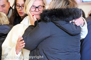 Viterbo - I funerali di Alvaro Tuchetti