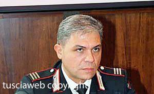 Viterbo - Il maresciallo dei carabinieri Angelo Ciardiello