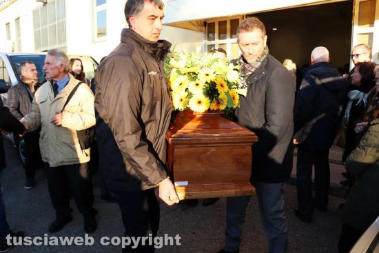 Viterbo - I funerali di Bruno Ignesti