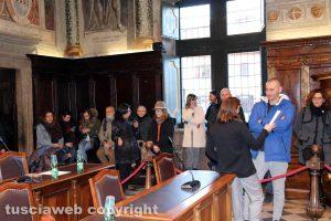 Viterbo - Consiglio comunale - I lavoratori Larus
