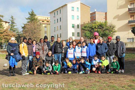 Viterbo - La partita di solidarietà di Sans Frontière