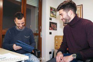 Samuele Sansonetti e Luca Baldassin