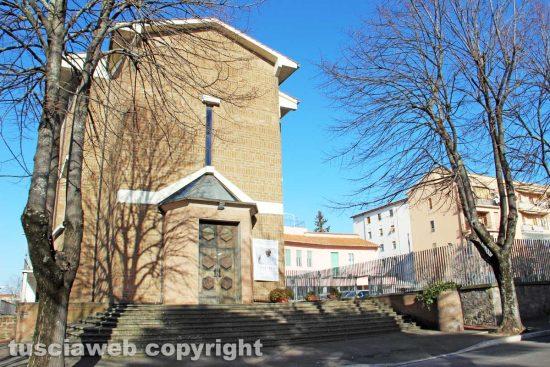 Viterbo - La chiesa del Sacro Cuore