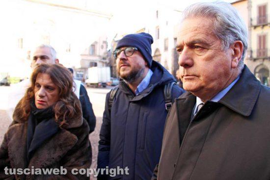 Viterbo - Laura Allegrini, Mauro Rotelli e Giovanni Arena