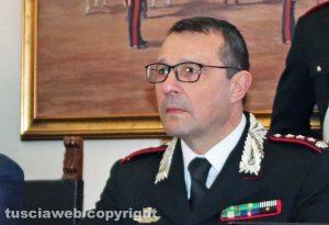 Giuseppe Palma, comandante provinciale dei carabinieri di Viterbo