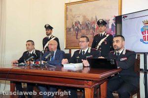 Mafia a Viterbo - La conferenza stampa a Viterbo
