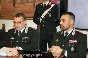 Viterbo - Carabinieri - Giuseppe Palma e Federico Lombardi