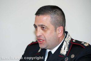 Viterbo - Carabinieri - Il maggiore Marcello Egidio