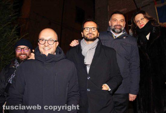 Viterbo - Paolo Bianchini, Mauro Rotelli, Marcello Gemmato, Luca De Carlo e Laura Allegrini