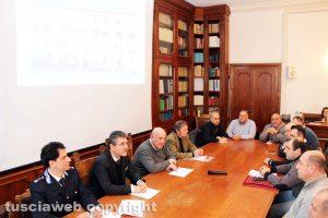 Viterbo - L'incontro con il prefetto Giovanni Bruno