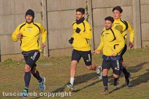 Sport - Calcio - Viterbese - L'allenamento di ieri